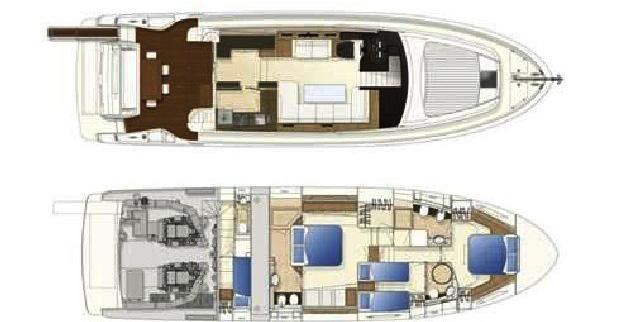 Ferretti Yacht 620 Layout 1