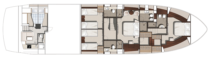Sunseeker Yacht 86 Layout 1
