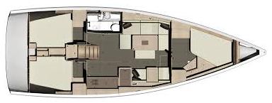 Dufour-yachts Dufour 412 Layout 1
