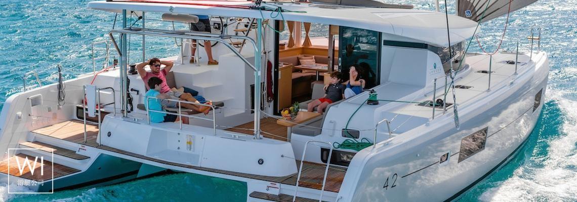 Lagoon 42 Lagoon Catamaran Exterior 0