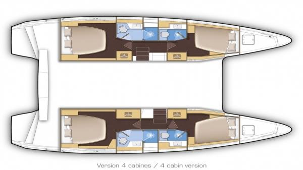 Lagoon-catamaran Lagoon 42 Layout 1