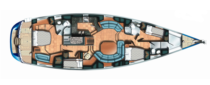Oyster-marine Yacht 655 Layout 1