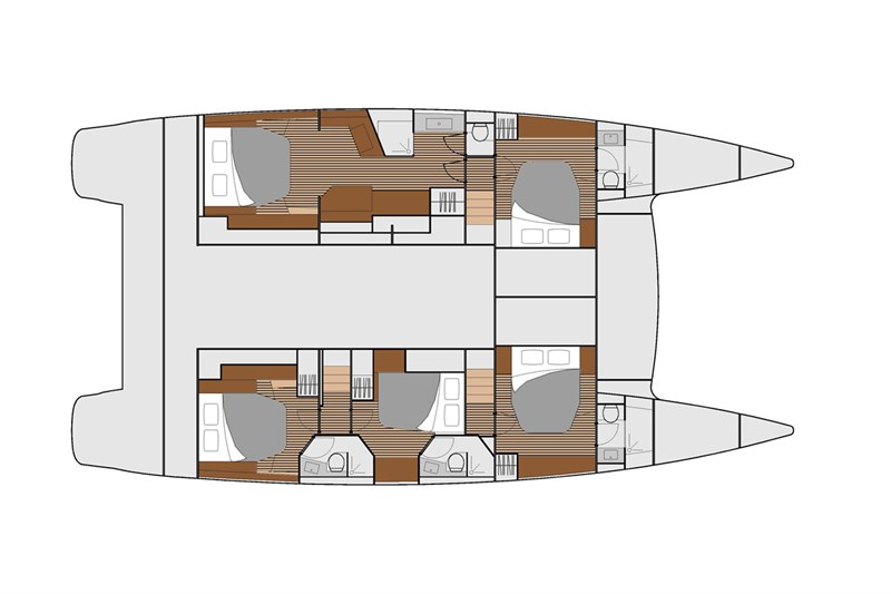 Fountaine-pajot Ipanema 58 Layout 1