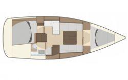 Dufour-yachts Dufour 335 Layout 1