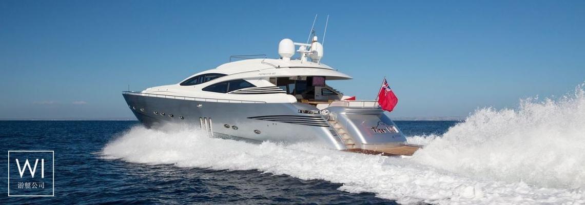 Tiger Lily Of London Pershing Yachts Pershing 90 Exterior 1