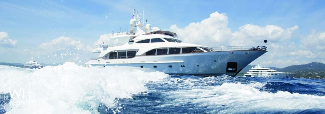 Cannes - Indulgence of Poole Overmarine Mangusta 85