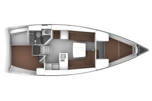 Bavaria-yachts Bavaria 37 Layout 1