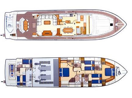 Ferretti Yacht 810 Layout 1