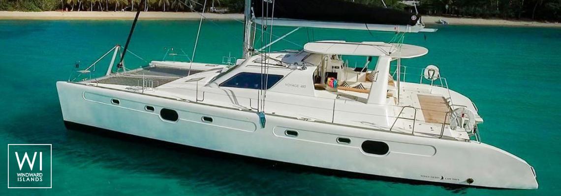 Voyage 480Voyage Catamaran