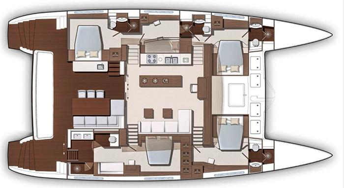 Lagoon-catamaran Lagoonmotoryacht 630 Layout 1