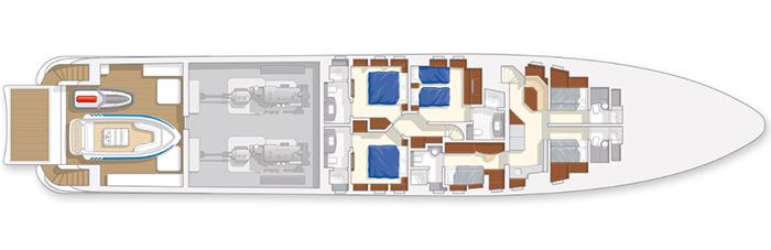 Heesen Yacht 37m Layout 1