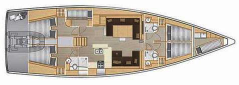 Hanse-yachts Hanse 588 Layout 1