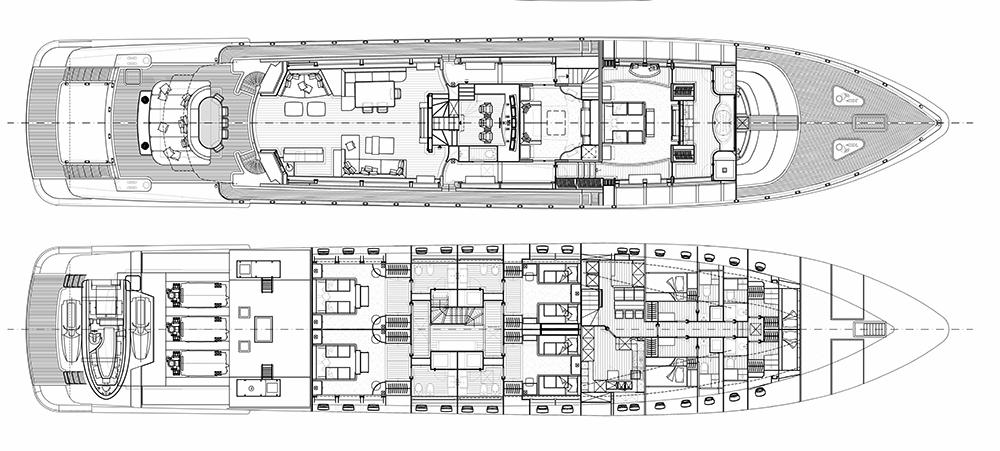 Leopard-yachts Leopard 46m Layout 1