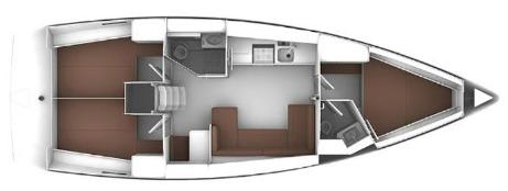 Bavaria-yachts Bavaria 41s Layout 1