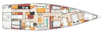 Hanse-yachts Hanse 675 Layout 1