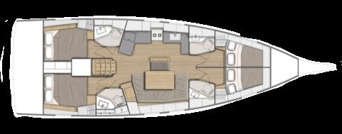 Beneteau Oceanis 461 Layout 0