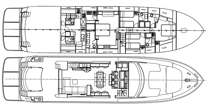 Custom Italcraft Open90 Layout 1