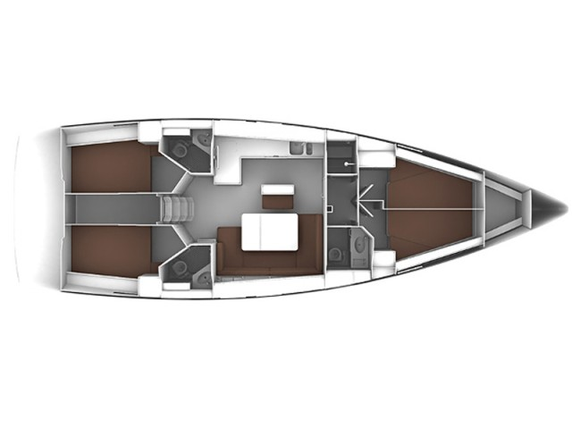 Bavaria-yachts Bavaria 46cruiser Layout 1