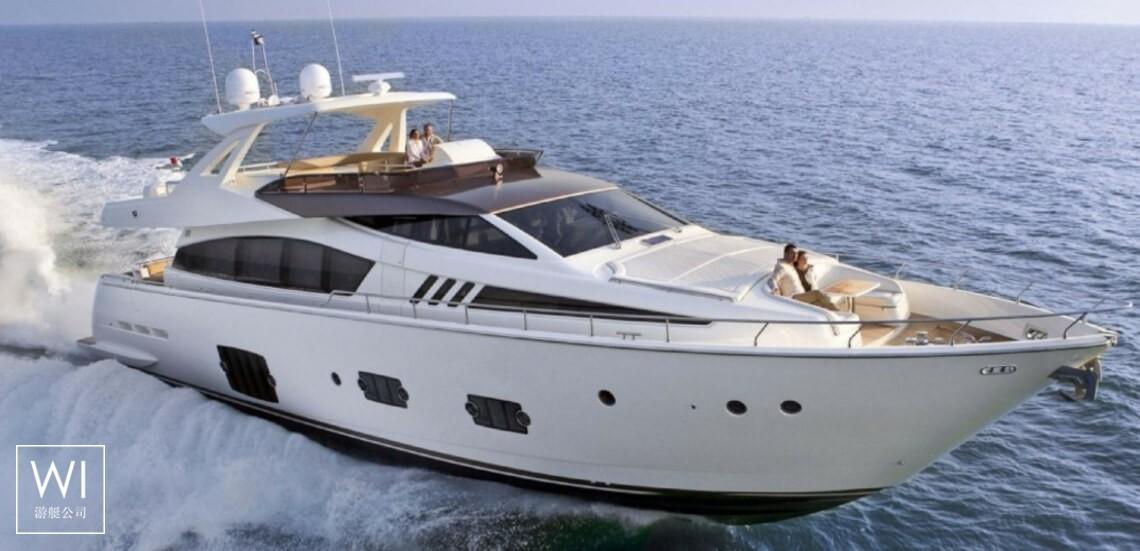 JPS  Ferretti Yacht 800 Exterior 1