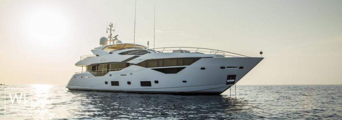 N°9  Sunseeker Sport Yacht 115 Exterior 1