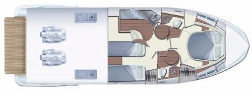 Azimut-yachts Azimut 43s Layout 1