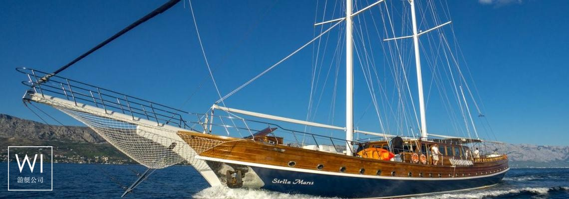 Stella Maris  Turkish Gulet - SMC 38M Exterior 1