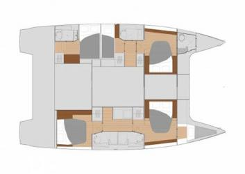 Fountaine-pajot Saona 47 Layout 1