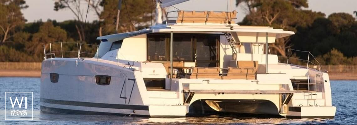 Saona 47 with watermaker & A/C Exterior 1