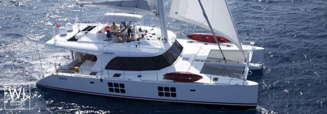 In the Wind Sunreef Catamaran Sail 58 Exterior 1