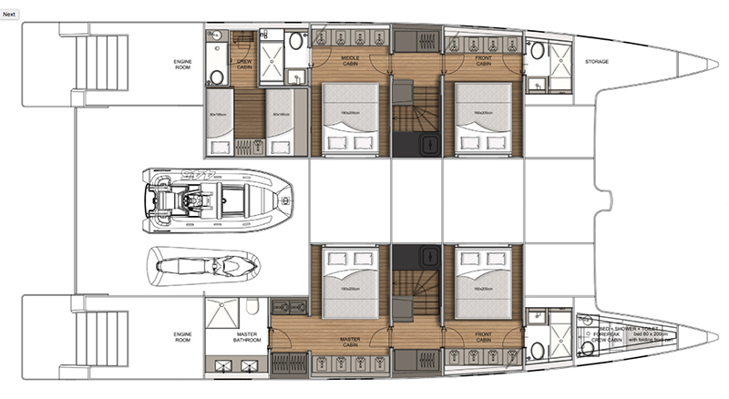 Sunreef-catamaran Supreme 68 Layout 1
