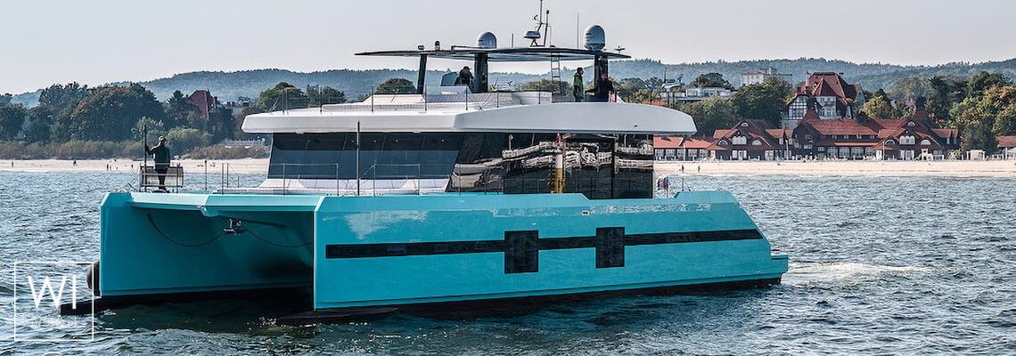 CHRISTINA TOO Sunreef Catamaran Supreme 68