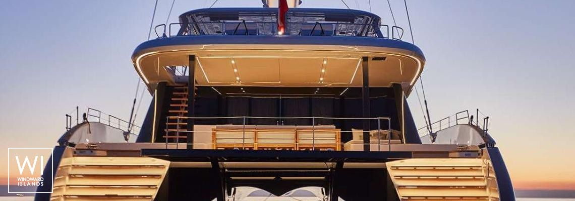 Sail 80' Sunreef Catamaran Exterior 1