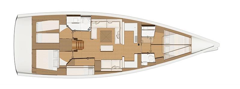 Dufour-yachts Dufour 520 Layout 1