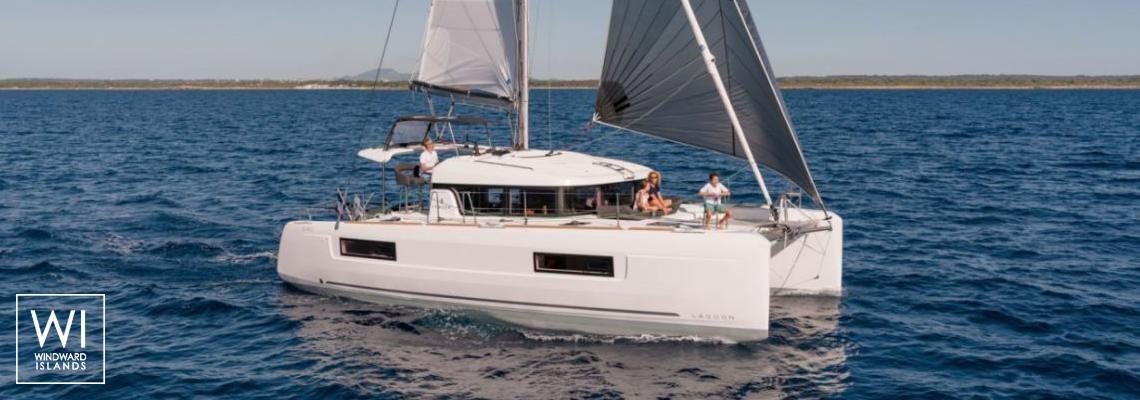 Lagoon 40 charter