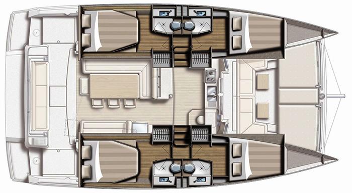 Catana-catamaran Bali 41 Layout 1