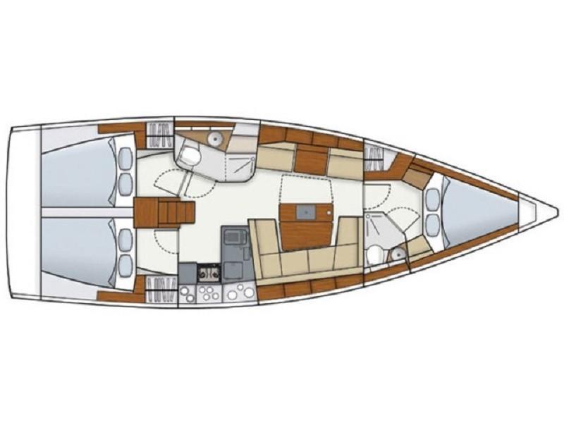 Hanse-yachts Hanse 418 Layout 1