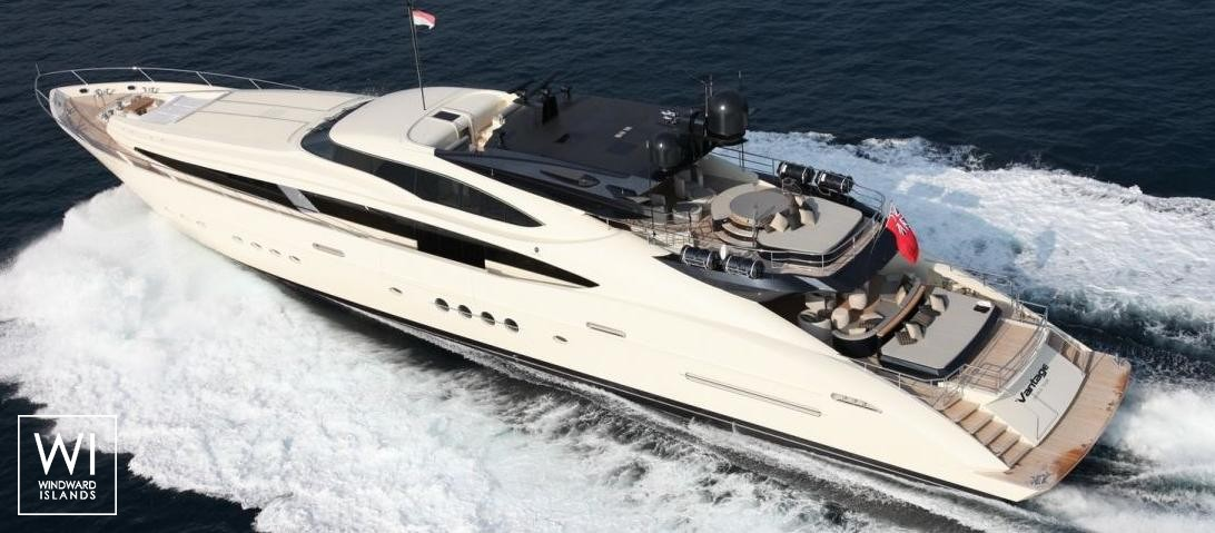 Vantage  Palmer Johnson Yacht 46M Exterior 0