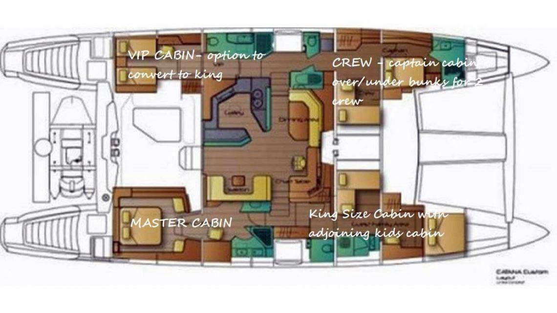 Catana-catamaran Custom 90 Layout 1