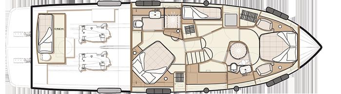 Azimut-yachts Magellano 53 Layout 1