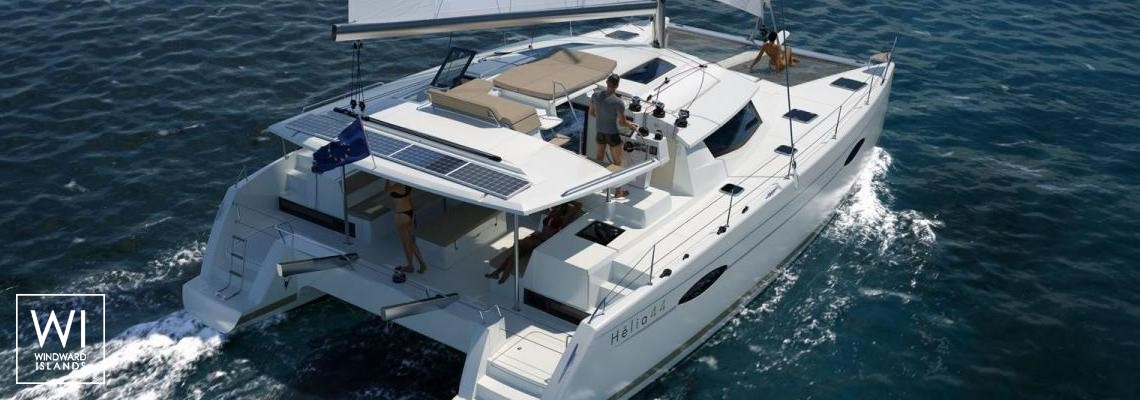 US Virgin Islands - Lavezzi 40Fountaine Pajot