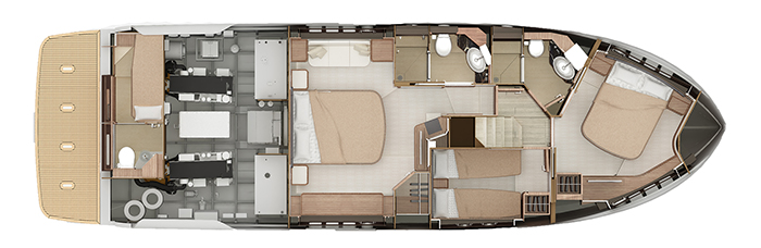 Absolute-yachts Navetta 52 Layout 1
