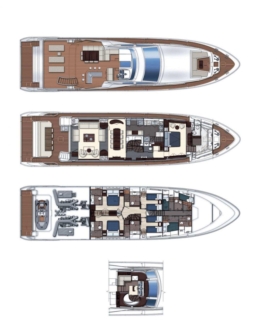 Azimut-yachts Grande 30m Layout 0