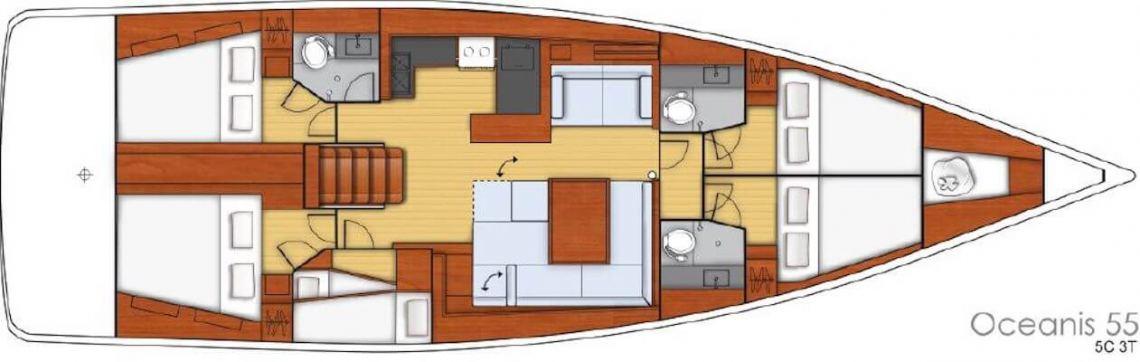 Beneteau Oceanis Oceanis55ac Layout 1