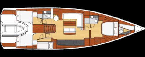 Beneteau Oceanis 62 Layout 1