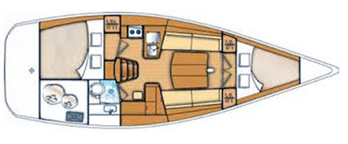Beneteau First 35 Layout 1