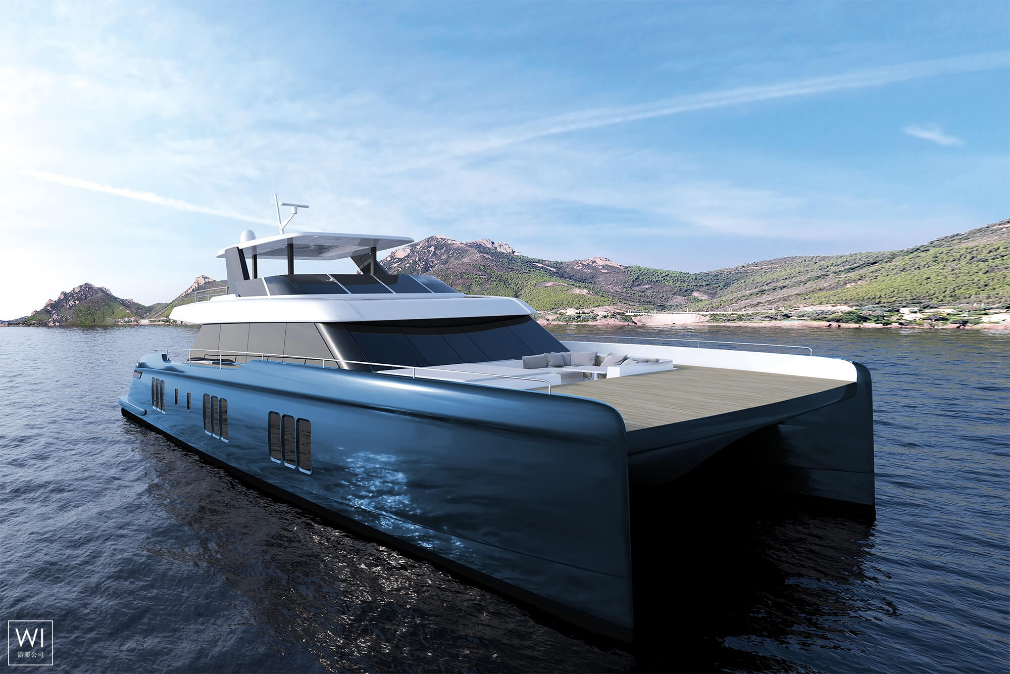 Power 70 Sunreef Catamaran Exterior 1