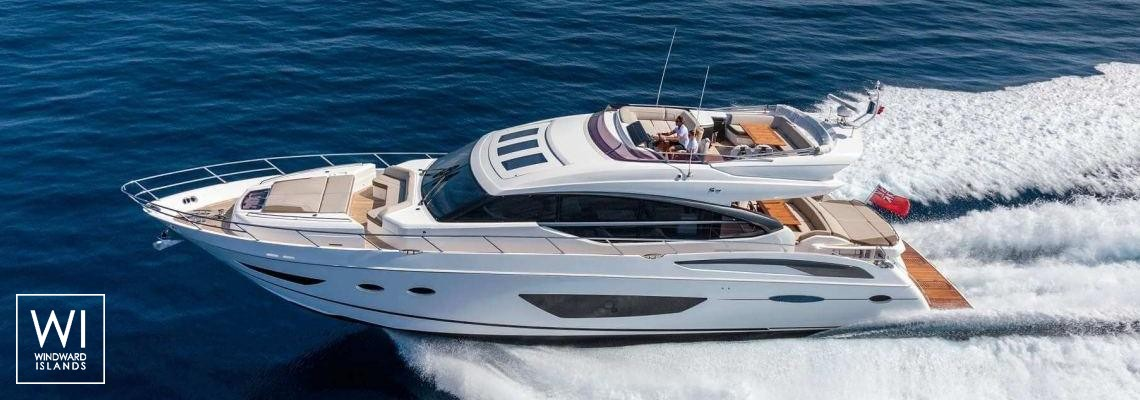 NELENA Princess Yachts Princess P 74