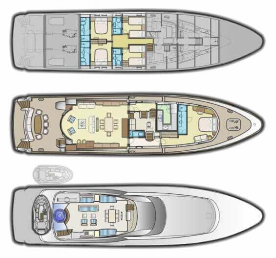 Ustaoglu-yachts Yacht 32m Layout 1