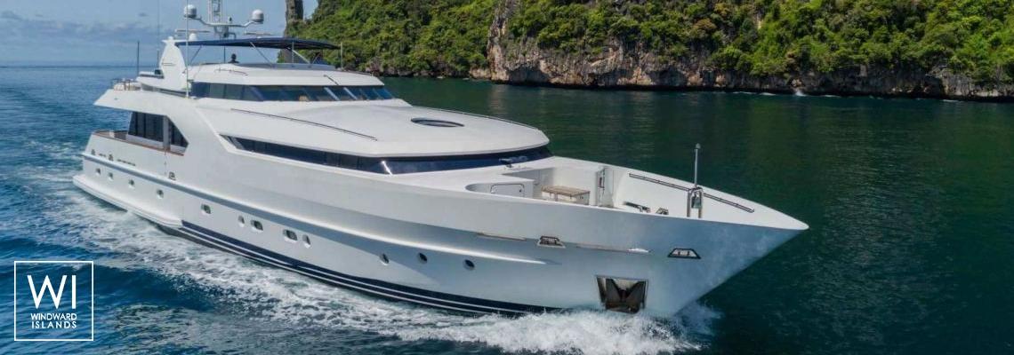 XANADU of LONDON  Moonen 34m Yacht Exterior 1