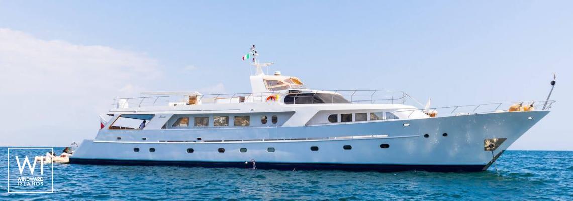 India  Benetti Yacht 35m Exterior 1